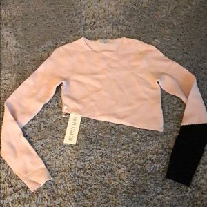NWT Ronny Kobo crop top xs